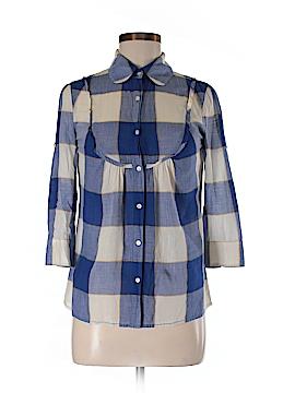 Eliot 3/4 Sleeve Button-Down Shirt Size 2