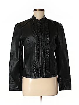 Steve Madden Faux Leather Jacket Size M