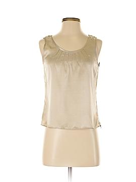 Ellen Tracy Sleeveless Silk Top Size 2