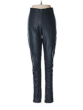 Topshop Faux Leather Pants Size 10