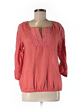Nine West 3/4 Sleeve Blouse Size M