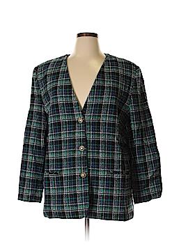 Alfred Dunner Wool Blazer Size 20 (Plus)