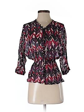 Armani Exchange 3/4 Sleeve Blouse Size XS