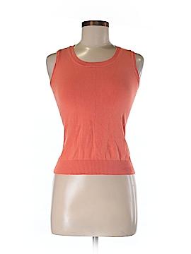 August Silk Sweater Vest Size P