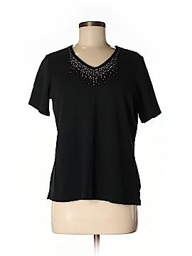 Quacker Factory Short Sleeve T-Shirt Size M