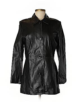 Kasper Leather Jacket Size M