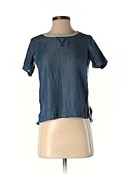 Lou & Grey Short Sleeve Blouse Size XXS