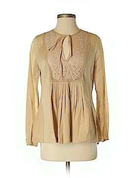 Catherine Malandrino Long Sleeve Blouse Size S
