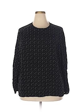 Rena Rowan Long Sleeve Blouse Size 22 (Plus)