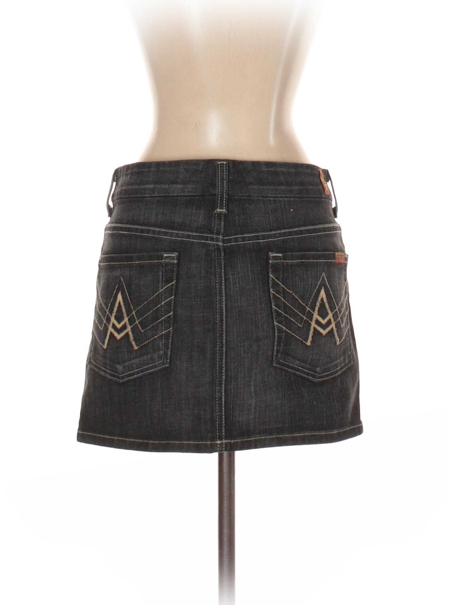 All Denim 7 leisure Mankind Boutique Skirt For qS6tn7RxXw