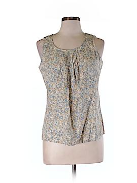 Winter Silks Sleeveless Silk Top Size M