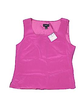 Andrea Viccaro Sleeveless Silk Top Size 10