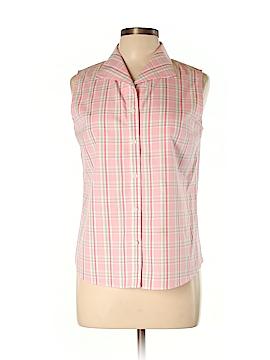 Westbound Sleeveless Button-Down Shirt Size 10
