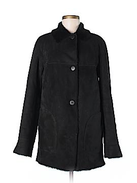 Hilary Radley Faux Leather Jacket Size 4