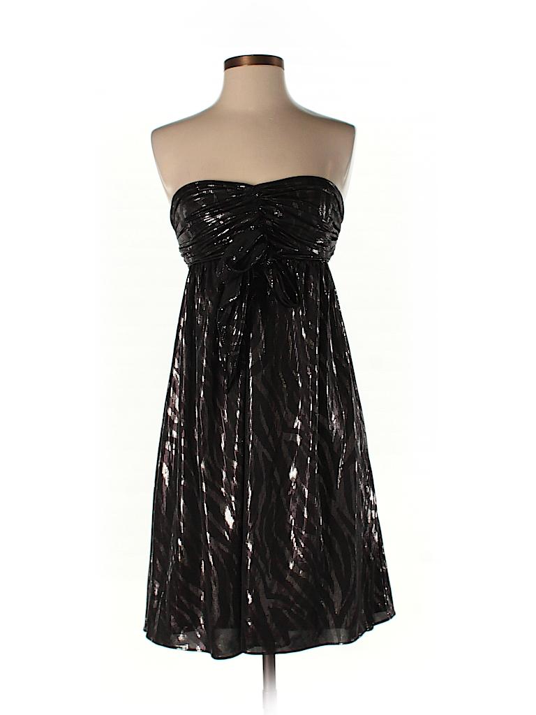 8d68e858c86 Express Animal Print Black Cocktail Dress Size S - 77% off
