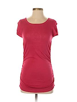 Ann Taylor Short Sleeve Silk Top Size XS