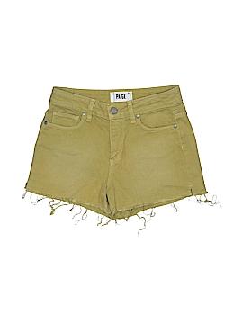 Paige Denim Shorts 23 Waist