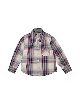 Volcom Long Sleeve Button-Down Shirt Size 2T