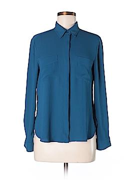 Ann Taylor LOFT Outlet Long Sleeve Blouse Size 8 (Petite)