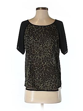 Lark & Ro Short Sleeve Blouse Size S