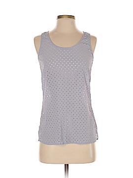 Ecru Sleeveless Silk Top Size XS