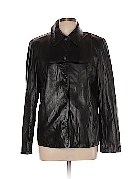 JLC New York Leather Jacket Size L