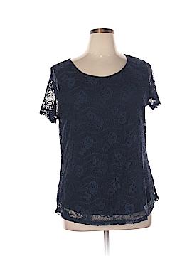 Lea & Nicole Short Sleeve Top Size XL