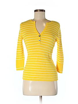 Lauren by Ralph Lauren 3/4 Sleeve Henley Size M (Petite)