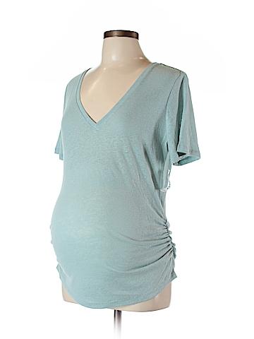 Old Navy - Maternity Short Sleeve T-Shirt Size L (Maternity)