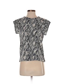 MNG Basics Short Sleeve Blouse Size XXS