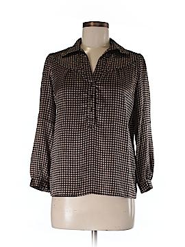 Gerard Darel Long Sleeve Silk Top Size 4 (36)