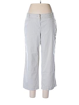 J.jill Khakis Size 12