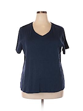 Laura Scott Short Sleeve T-Shirt Size 1X (Plus)