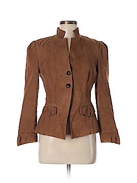 Diane von Furstenberg Leather Jacket Size 8