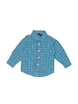 Nautica Long Sleeve Button-Down Shirt Size 9 mo