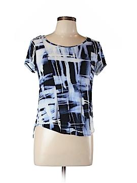 Simply Vera Vera Wang Short Sleeve T-Shirt Size L (Petite)