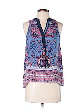 Vanessa Virginia Sleeveless Silk Top Size XS
