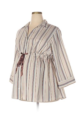 Motherhood Long Sleeve Blouse Size 2X (Maternity)