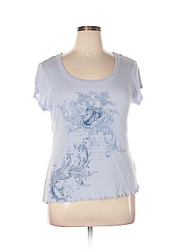 Daisy Fuentes Short Sleeve T-Shirt Size 1X (Plus)