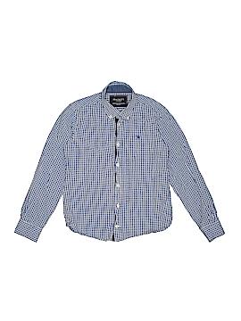 Hackett London Long Sleeve Button-Down Shirt Size 7-8yrs