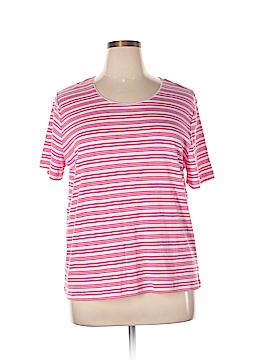 Rebecca Malone Short Sleeve Top Size XL