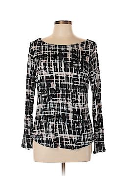 Simply Vera Vera Wang Long Sleeve Top Size L (Petite)