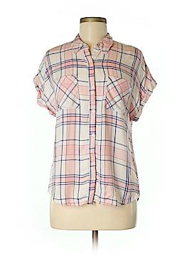 Como Vintage Short Sleeve Button-Down Shirt Size M
