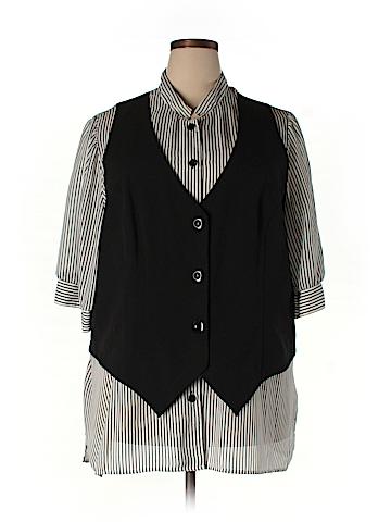 DressBarn 3/4 Sleeve Blouse Size 24 (Plus)