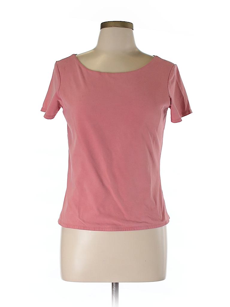 Reaction for J.Jill Women Short Sleeve T-Shirt Size M