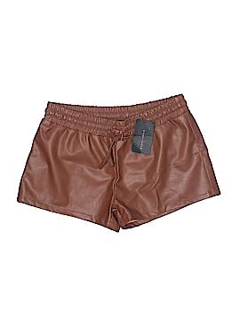 Signature 8 Faux Leather Shorts Size L