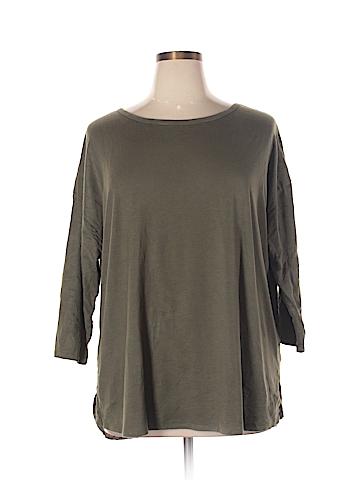 Verve Ami 3/4 Sleeve T-Shirt Size 1X (Plus)