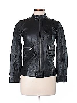 Tommy Hilfiger Leather Jacket Size 12