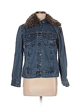 St. John's Bay Denim Jacket Size M (Petite)
