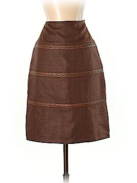 Etcetera Silk Skirt Size 0